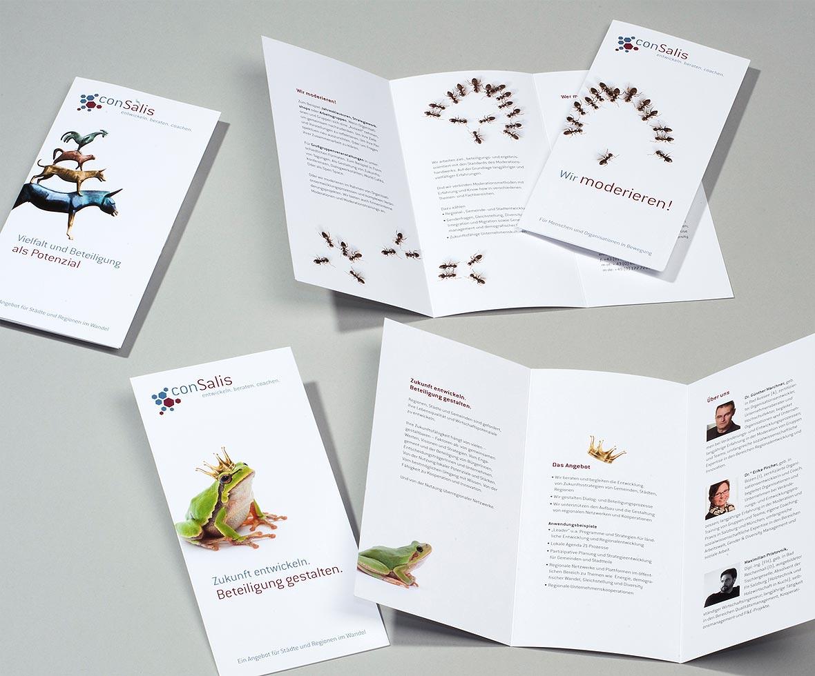 Portfolio Printdesignwebdesign München